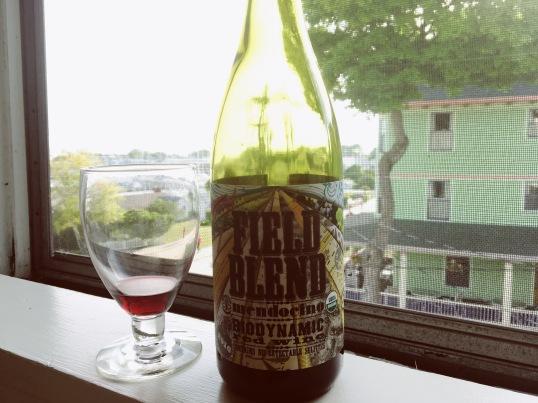 Field Blend biodynamic wine